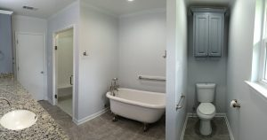 Baton Rouge Remodeling Contractor with new Bathroom in Central