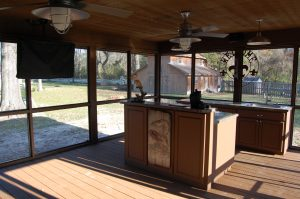 Baton Rouge Contractor with new Prairieville outdoor Kitchen