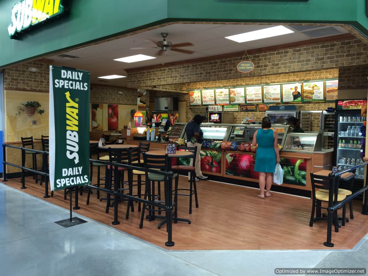 Subway Restaurant At Bluebonnet And Burbank Zitro