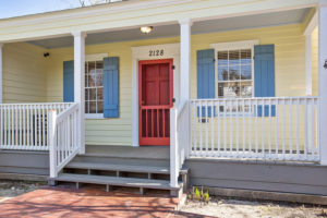New Front Porch Railings in Baton Rouge