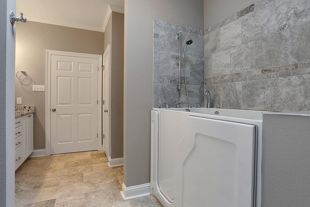 Denham Springs Bathroom for Home Remodel with walk in tub