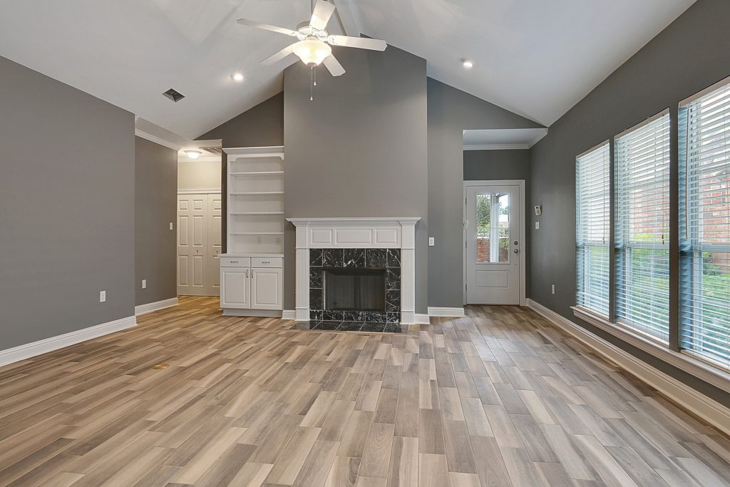 Denham Springs Home Remodel with wood look