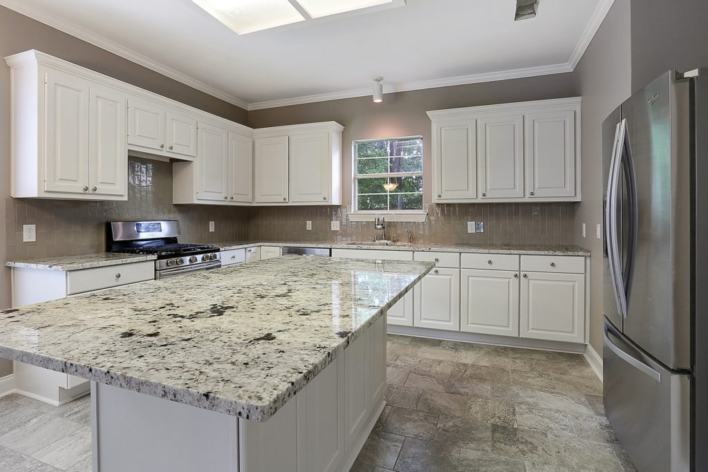 Denham Springs Kitchen for Home Remodel with Granite Countertop