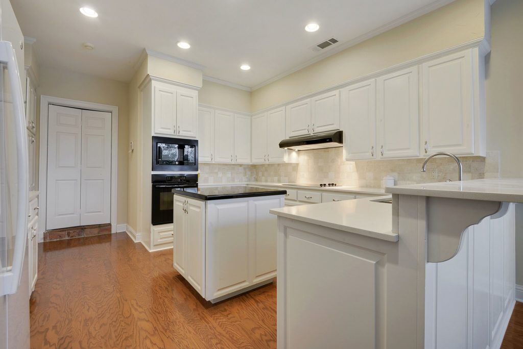 Kitchen Remodel with Hardwood Flooring in Baton Rouge
