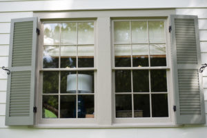 Baton Rouge Exterior Remodel with Wood Shutters