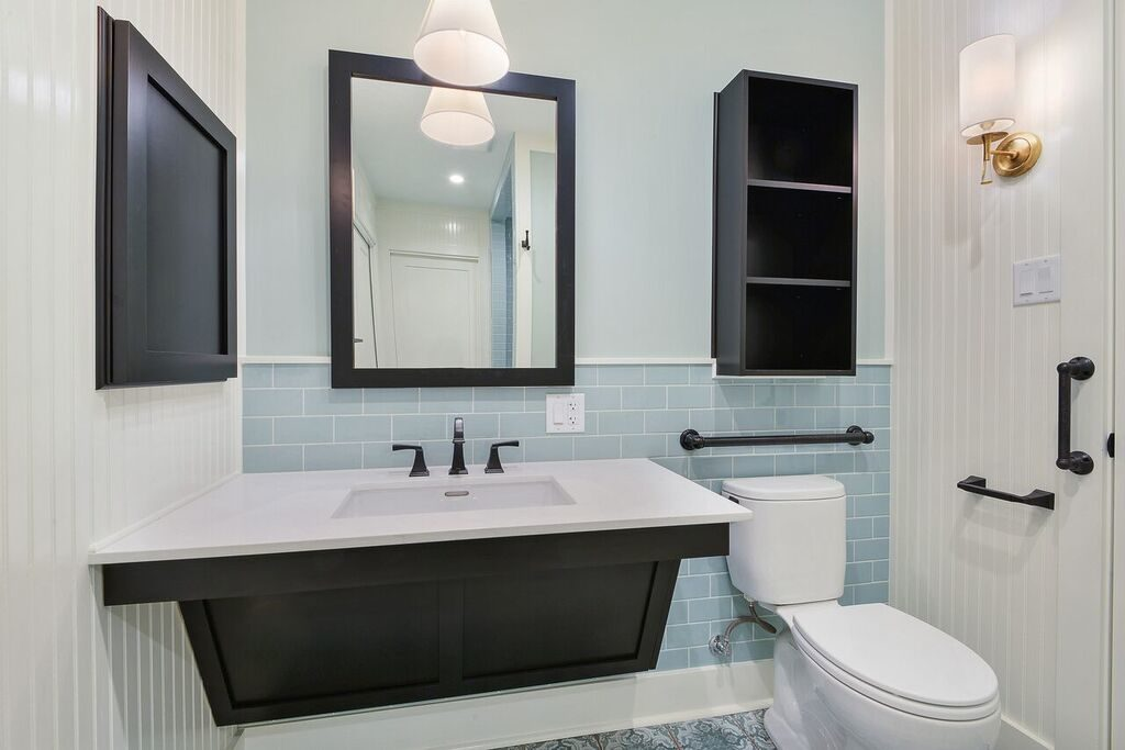 Wheelchair Access Bathroom Remodeling In Baton Rouge Zitro Construction