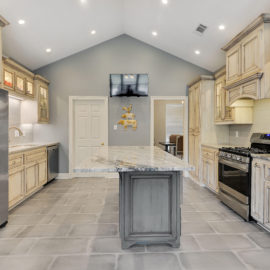 Baton Rouge Old World Eloquence Kitchen Remodel