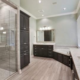 baton rouge master bath remodel porcelain tile