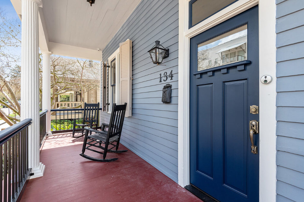 Historic Restoration and Renovation for front entry door